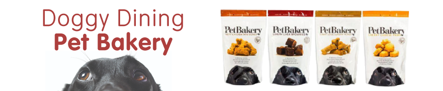 Doggy Dining, Pet Bakery Blog Post - Header Banner