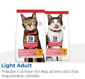 Hills Science Plan Light Cat