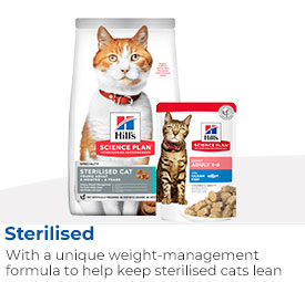 Hills SciencePlan Sterilised Cat