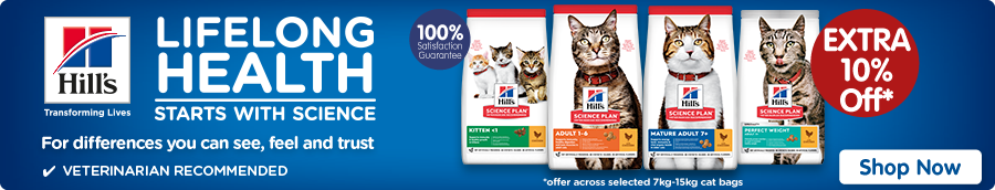 Hill's Science Plan Cat Dry Food Banner