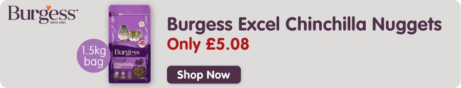 Burgess Excel Chinchilla Food