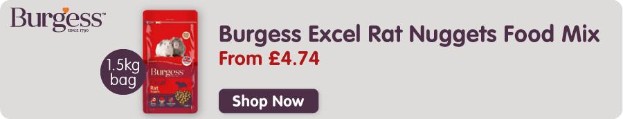 Burgess Excel Rat Food