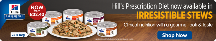 Hill's Prescription Diet Dry Cat Food Banner