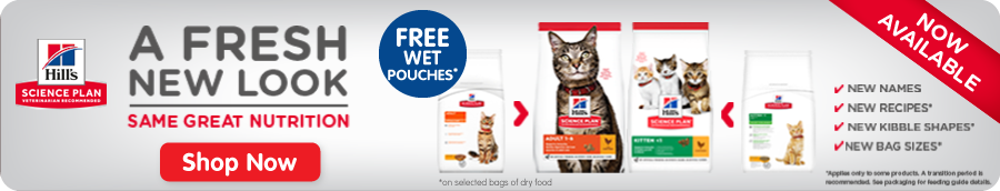 Hill's Science Plan Dry Cat Food Banner