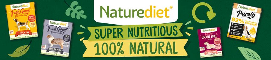 Naturediet Top Banner