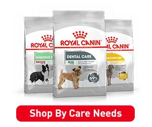 RoyalCanin Dog Care Needs