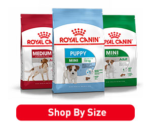 RoyalCanin Dog Size