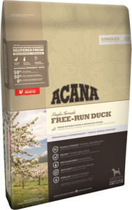 acana free run duck adult dog food