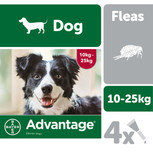 advantage fleas large dogs 10-25kg