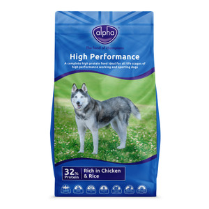 Alpha High Performance Dry Dog Food