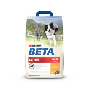 BETA Active Adult Dry Dog Food - 2.5kg