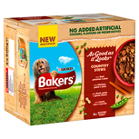 Bakers country stews dog food