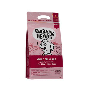 Barking Heads senior dog food