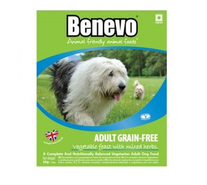 Benevo Vegan Grain Free Dog Food Trays 10 Pack