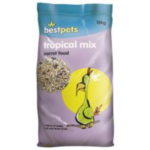 Bestpets Tropical Parrot Mix Bird
