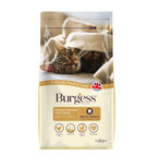 Burgess Adult Rich In Chicken With Duck Dry Cat Food - 1.5kg
