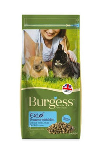 Burgess Excel Junior & Dwarf Rabbit Food - 4kg