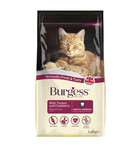Burgess Mature Turkey And Cranberry Dry Cat Food - 1.4kg