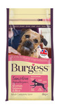 Burgess Sensitive Adult Salmon & Rice Dry Dog Food - 2kg