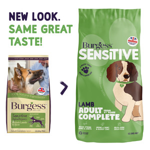 Burgess Sensitive dry dog food