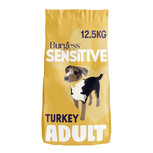 Burgess Sensitive Turkey & Rice Dry Dog Food - 12.5kg