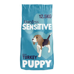 Burgess Sensitive Turkey & Rice Dry Puppy Food - 12.5kg