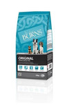 blue packaging three dogs food