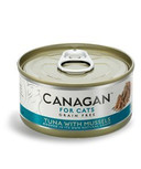 Canagan Fresh Tuna Mussels Cat Cans