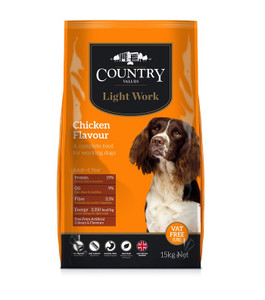 Country Value Light Work dog food