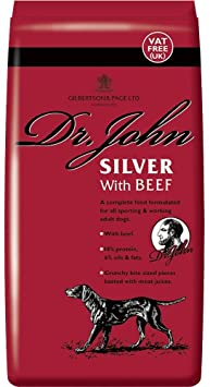 Dr John Silver Dry Dog Food with Beef