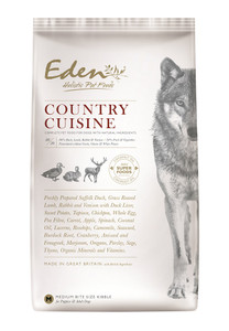 Eden dog food small kibble