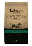 Eden working and sporting dog food