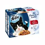 Felix Pouch ASAIL Meat Cat Food