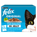 Felix Pouch Fish in Jelly cat food