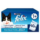 Felix Fish Selection Cat Pouches