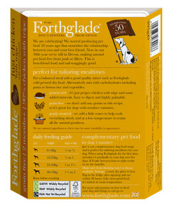 Forthglade Chicken & Tripe dog food