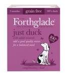 Forthglade Just Duck Dog Food