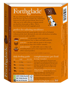 Forthglade Turkey Grain Free food