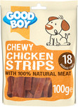 Good Boy Chewy Chicken Strips Dog