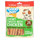 Good Boy Chewy Twists dog treats