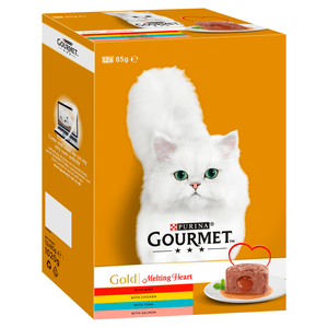 Gourmet Meat & Fish cat food 85g