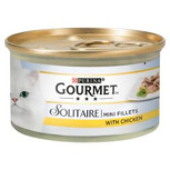 Gourmet Solitaire Chicken Cat Food