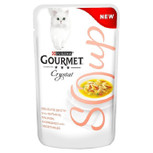 Gourmet Soup Salmon & Veg Cat Food