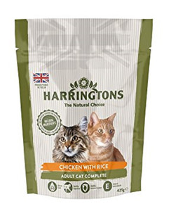 Harringtons Adult Cat Chicken & Ric