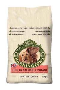 Harringtons Salmon Potato Dry Dog Food 12kg