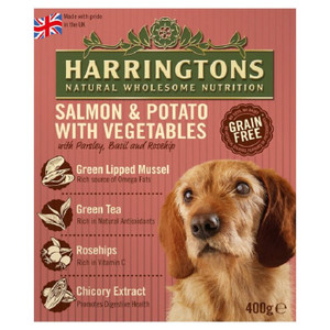 Harringtons Salmon&Potato veg food