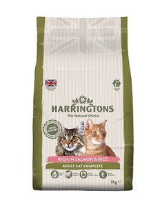 Harringtons Salmon & Rice Cat Food