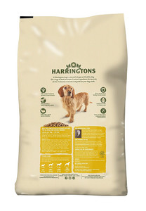 Harringtons white package two dogs