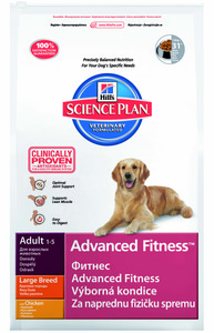 Hills science plan advanced fitness