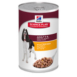 Hill's canine savoury chicken cans